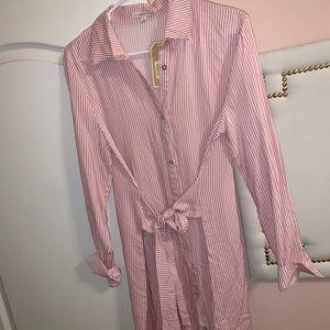 NWT Copper Key button down dress